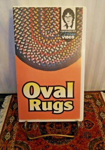 OVAL RUG BRAIDING by Verna Cox -an Instructional VHS Video 1993