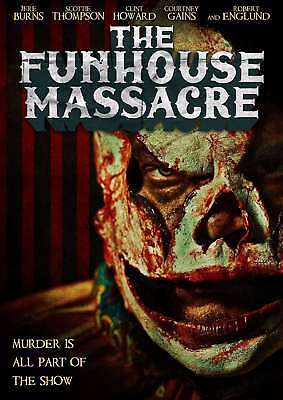 New: THE FUNHOUSE MASSACRE -  DVD w/ Special Features, Robert Englund