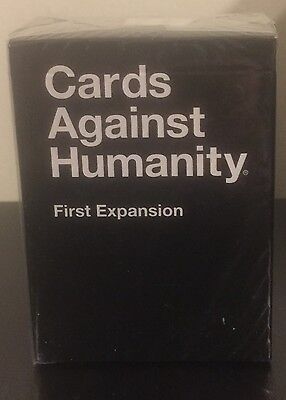 Cards Against Humanity First (1st) Expansion 112 Card Party Game Sealed New