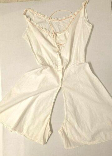 Antique Vintage Victorian camisole & split drawers combo B39