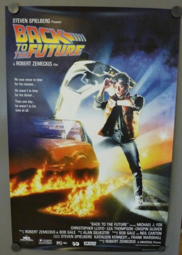 Back To The Future 24x36 Reprint Movie Poster Michael J Fox