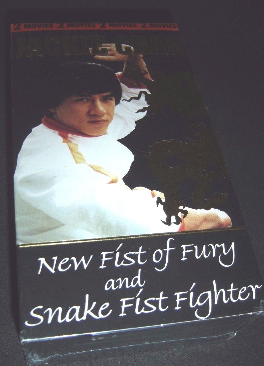 Jackie Chan New Fist of Fury / Snake Fist Fighter 2 VHS Set