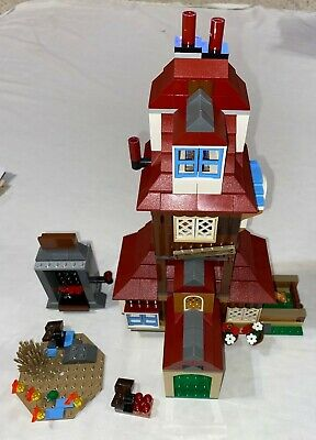 Lego 4840 Harry Potter The Burrow Complete Set with Instructions