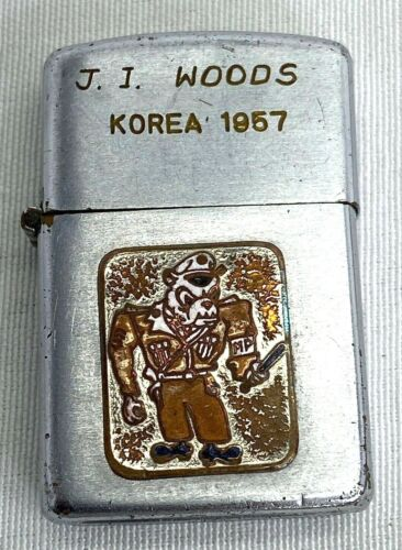 1957 US Army 24th Infantry Division Military Police Lighter