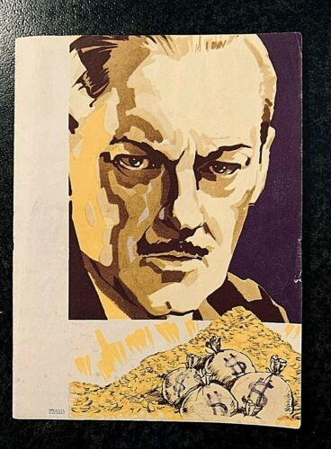 SWEEPINGS 1933 MOVIE HERALD - LIONEL BARRYMORE
