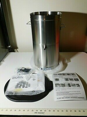 New Bunn 4 Gallon Commercial Iced Tea Dispenser Tdo-4