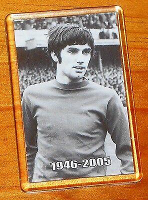 George Best Manchester United Man Utd Legend Fridge Magnet