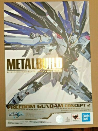 NEW BANDAI METAL BUILD (DIE-CAST) Freedom Gundam Concept 2 Action figure - USA