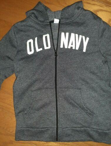OLD NAVY - dark gray - Full Zip Up Hoodie Sweatshirt NWOT - Size L (Size 10- 12)