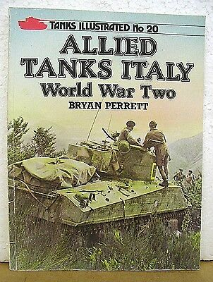 Allied Tanks Italy World War Two By Bryan Perrett 1985