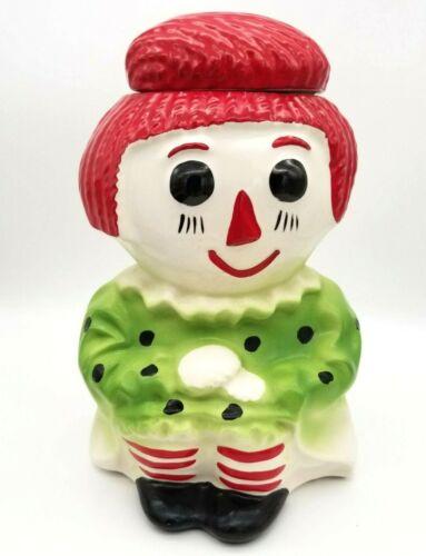 Vintage McCoy Raggedy Ann Cookie Jar USA