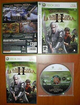 El Señor de Los Anillos: La Batalla por La Tierra Media II, Xbox 360, Pal-España segunda mano  Arroyo de las Palmas