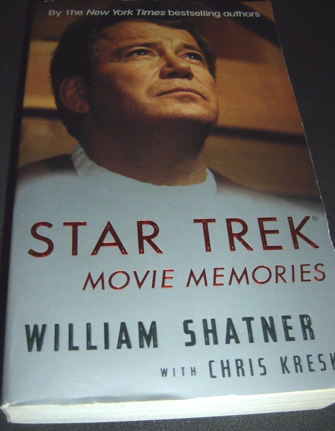 Star Trek Movie Memories by William Shatner (1995, Paperback)