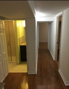2 Bedroom + Den Basement Apartment Basement (Midland & Finch)