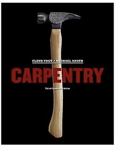 Carpentry textbook wanted
