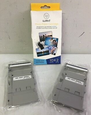 Bluprnt Photo Paper Cartridge 20 PACK Credit Card Size Prints