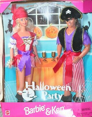 BARBIE AND KEN HALLOWEEN PARTY TARGET SPECIAL NEW DOLLS BAD BOX (Halloween Barbie And Ken)