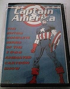 Captain America 1966 Complete Animated Series DVD Free USA Shipping