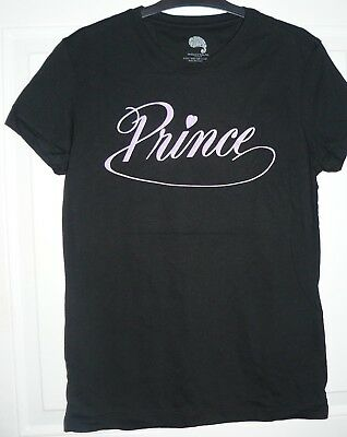 NEW Women's SMALL Prince T-Shirt Face On Back Developed At Paisley Park (2017)