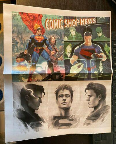 COMIC SHOP NEWS #1761, SUPERMAN JONATHAN KENT, SUPERMAN SON OF KAL-EL #1, PROMO