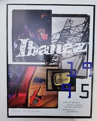 1995 Ibanez 51 Page Catalog / Catalogue Guitars, Basses, Pedals Many Artists! for sale  Pikesville