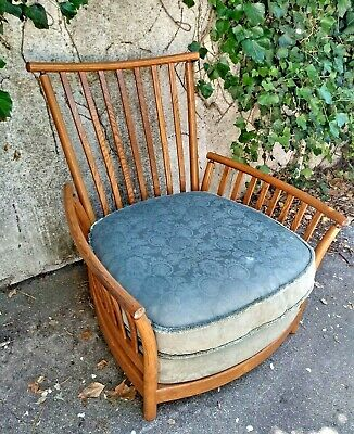 VINTAGE ERCOL EASY CHAIR - UK Delivery Available - Mid Century Modern Furniture