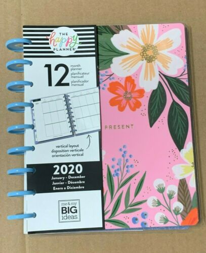 """The Happy Planner - Lovely Blooms 2020 Medium Planner 
