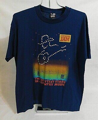 Vtg 1995 COUNTRY JAM USA Concert T-Shirt Sz XL Alabama Tim McGraw Faith Hill
