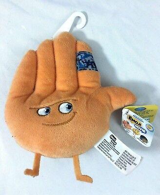 The Emoji Movie Stuffed Bean Plush Toy Hi-5 Hand Character NWT High Five - High Five Emoji