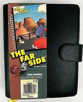 New Gary Larson The Far Side Day Runner Organizer Planner -- Nos 2001-2002