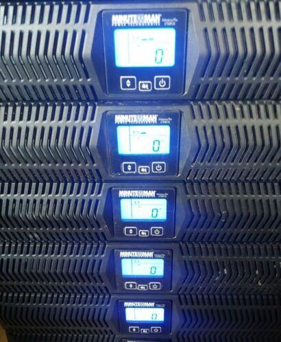 Minuteman UPS Enterprise Plus E3000RT2U 3000VA 120V LCD Rackmount - 12 Available