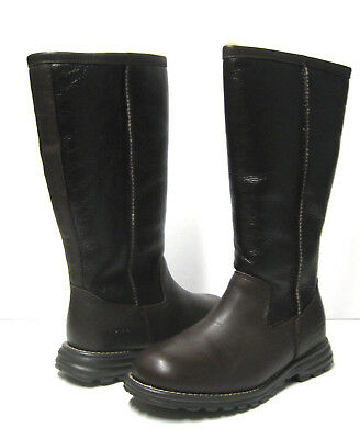 UGG BROOKS WOMEN TALL BOOTS LEATHER BROWN US 5 /UK 3.5 /EU 36 for sale  Ventura