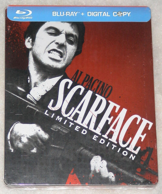 Scarface: Steelbook Edition - Triple Play Blu-ray + DVD + Art Cards NEW & SEALED