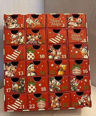 Disney Store Mickey Mouse Share The Magic Advent Calendar Boxes EMPTY