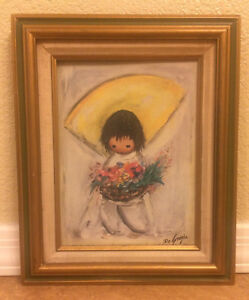 Hand Signed DeGrazia