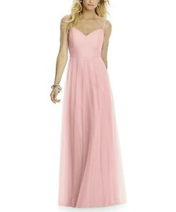 Stunning rose quartz coloured dress