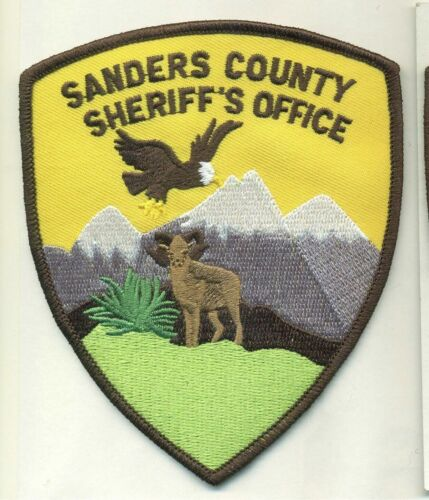 Sanders County Sheriff State Montana MT Scenic patch