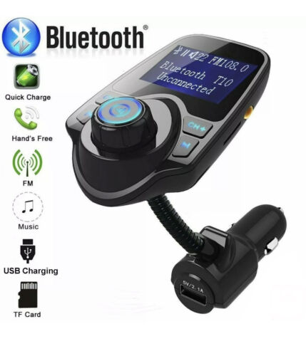 Car FM Transmitter Bluetooth MP3 Player Hands free Radio Adapter Kit USB Charger