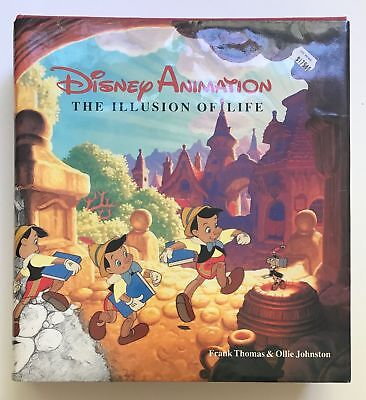 """1981 """"Disney Animation"""" Art Book, New, Massive, Collectible 11.5x10.5x2"""" Great"""