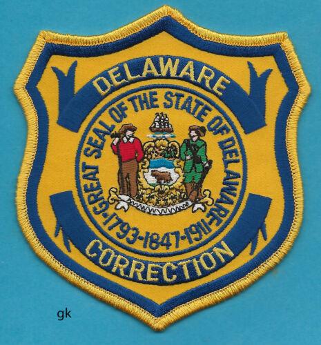 DELAWARE STATE DEPT OF CORRECTIONS POLICE SHOULDER PATCH