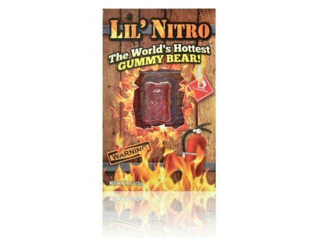 Lil' Nitro Gummy Bear | Worlds Hottest Gummy Bear | Free and Fast Shipping