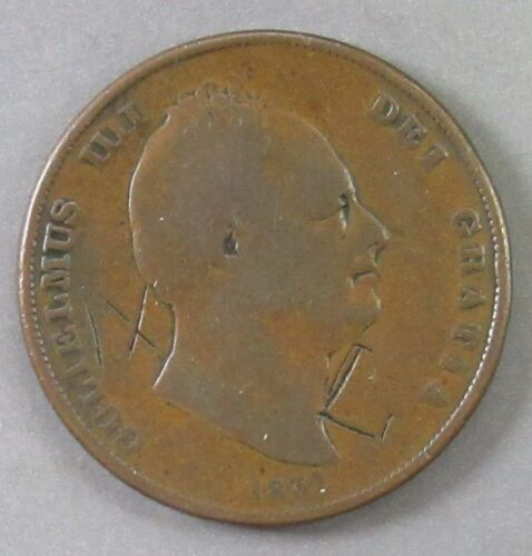 GREAT BRITAIN 1831 ONE PENNY.