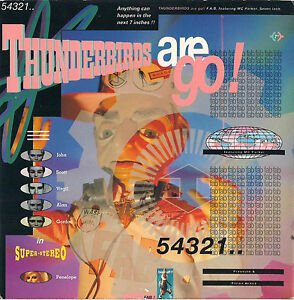 DISCO-45-Giri-F-A-B-FEATURING-M-C-PARKER-thunderbirds-are-go