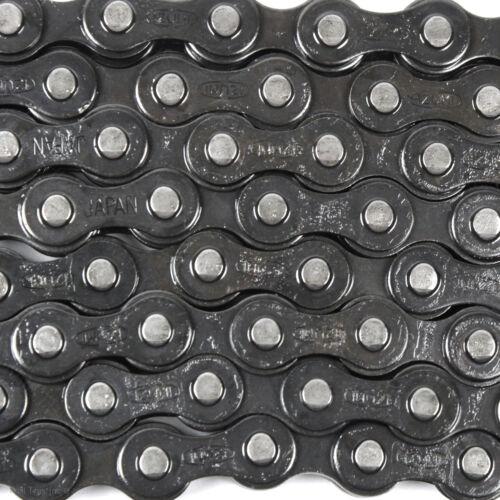 """IZUMI Standard 1/8"""" Bike Chain Black/Gray 116L Track BMX Fixed Gear Single-Speed"""