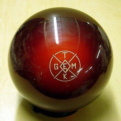 = 16 Gemtek Diamond Gt Red Bowlers Warehouse Clear Bowling Ball
