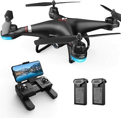 Holy Stone HS110G GPS drone with 1080P HD camera FPV RC quadcopter 2 batteries