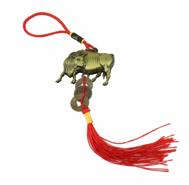 Bronze Color Ox Charm  for the Year of the Ox