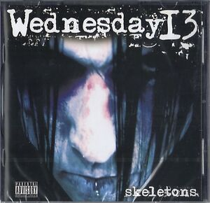Wednesday-13-Skeletons-CD-2011-Brand-new-sealed