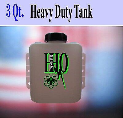 3 Quart Heavy Duty Hho Dry Cell Bubbler / Reservoir / Scrubber/ 2.84 Liters Tank