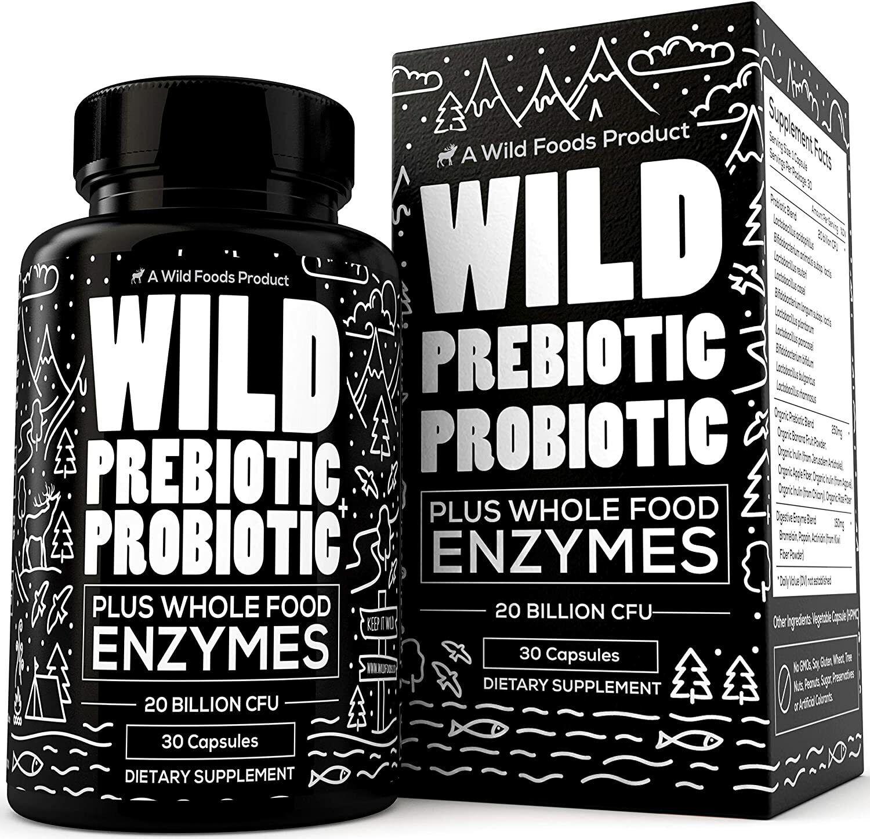Wild Foods Prebiotics and Probiotics